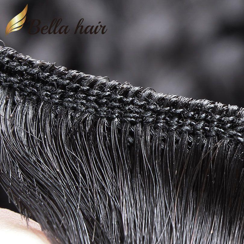 Brasiliani Bundles Vergine non trasformati capelli umani Malesia peruviana indiano mongolo profondo onda di estensioni dei capelli trama colore naturale capelli economici