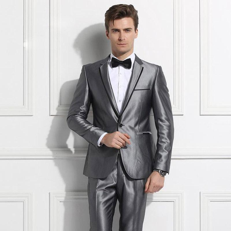Red And Silver Prom Suits - Go Suits