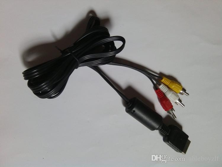 ソニープレイステーションのためのRCAへの6フィートのオーディオビデオAVケーブルコード2 PS2 PlayStation 3 PS3