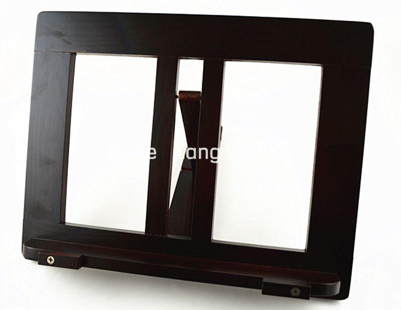Note Music Stand libro del basamento della rossa naturale tavola di legno portatile counte trasporto di commerci all'ingrosso