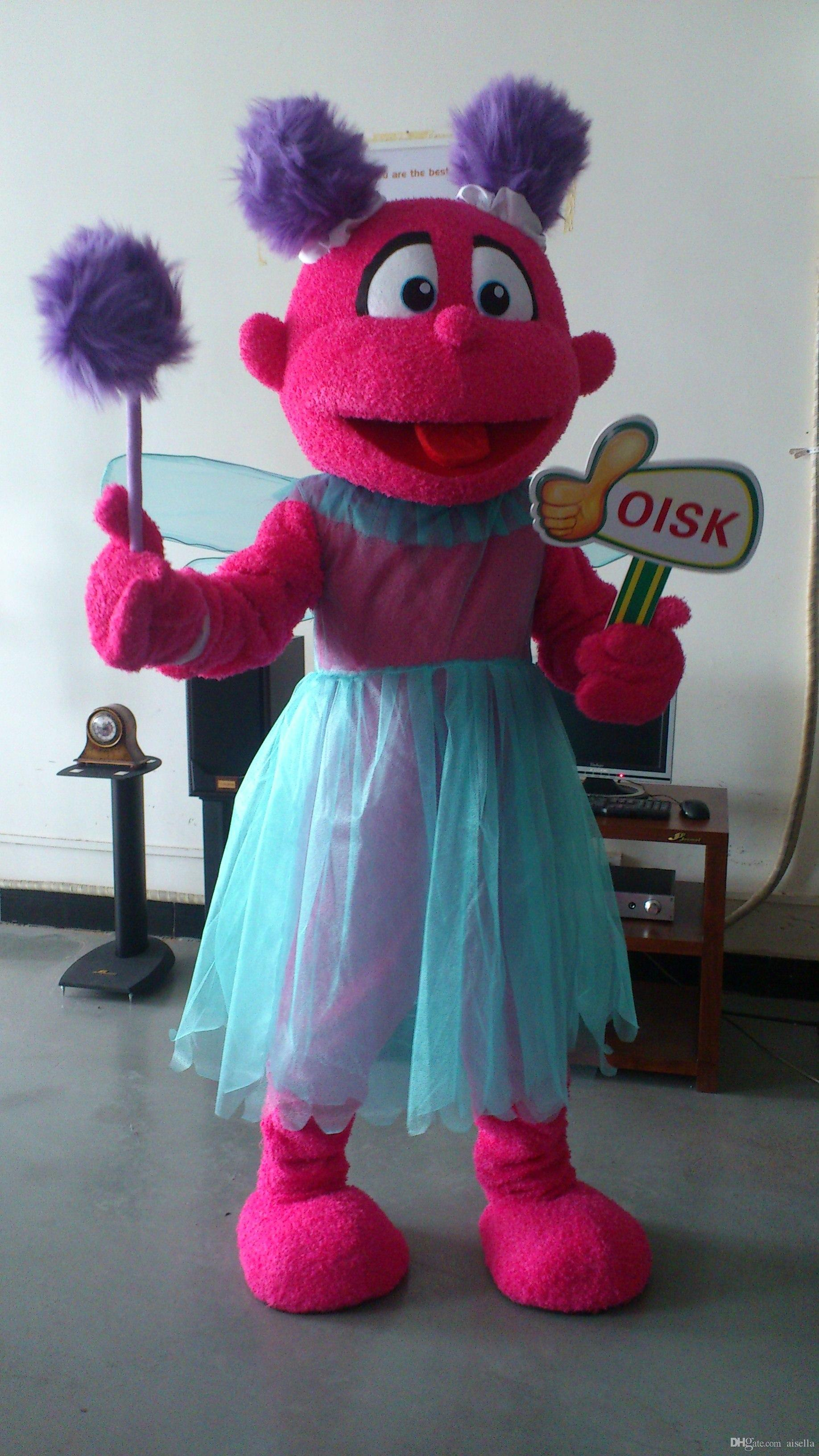 Oisk Actual Picture Abby In Sesame Street Elmo Mascot Costumes ...