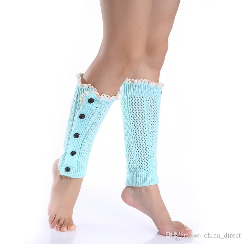 2015 Sexy Womens Beinlinge Tanz Socken Aufwärmen gestrickte Beute Gamaschen Boot Manschetten Strumpf Socken Boot Covers Leggings Tight / # 3928