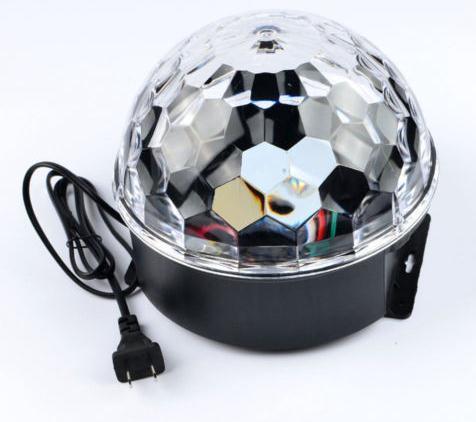 Efeito de Palco da festa Lâmpada de Luz Lâmpada Clube DJ Disco KTV Party Som Ativo RGB Cristal LED Bola Projetor drop shipping