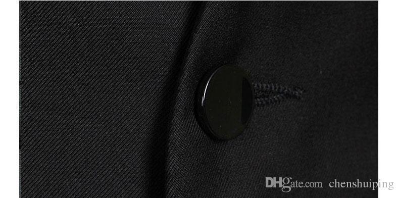 Мужчины жилеты верхняя одежда Мужская жилет человек случайные костюмы Slim Fit стильный короткие пальто костюм блейзер Куртки пальто корейский свадебные мужские V-образным вырезом жилет