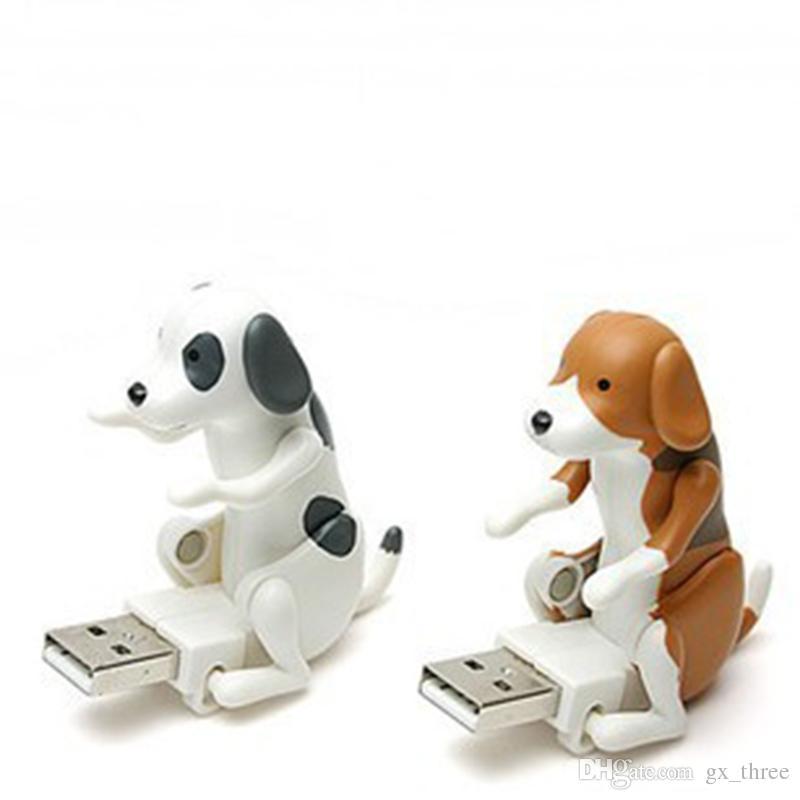 Mini Lindo USB 2.0 Divertido Humping Spot Perro de Juguete Alivie la Presión para el Trabajador de Oficina El mejor disco de U para Halloween Navidad