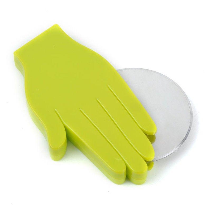 Creativo Pizza Cutter Palm Shape Lama in acciaio inox Rolling Knife Plastica antiscivolo Utensile da cucina di pasticceria Vendita calda 5tt B