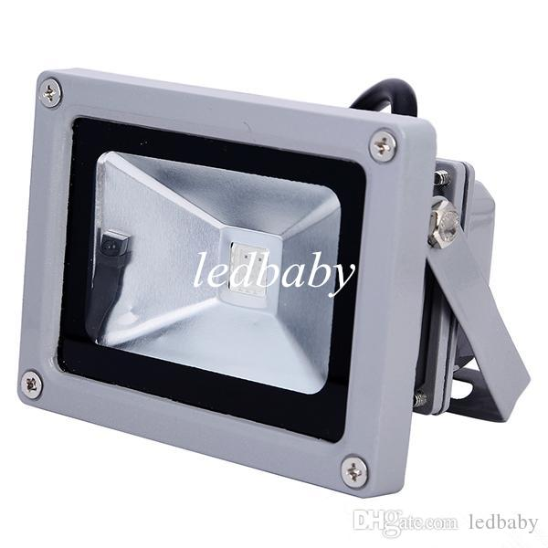 10W Led Landscape Lamp Garden Outdoor Lighting Flood Light Lamp Projector Warm Cool RGB Led Floodlight