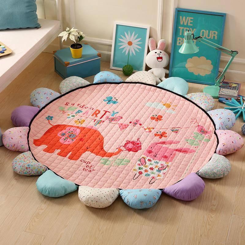 Baby Rugs Playmate Environmental Sunbath Climbing Pad Baby Game ...