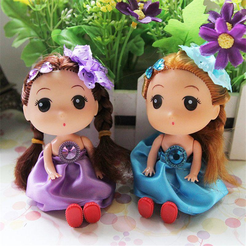 2018 Princess Mini Bowknot Barbie Dolls Cute Cartoon