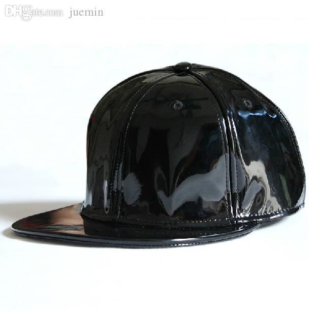 Wholesale Casual Street Hip Hop Style PU Patent Leather Adjustable Baseball  Cap High Fashion Dancing Hats Uniforms Baseball Caps For Men Mesh Hats From  ... 1bab03431c5