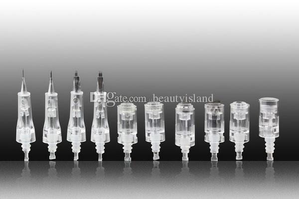 50 stks naaldcartridge 1/3/7/9/12/36/42 pins voor Dr.Pen en MyM Derma Pen Microneedle Pen oplaadbare Dermapen Needle