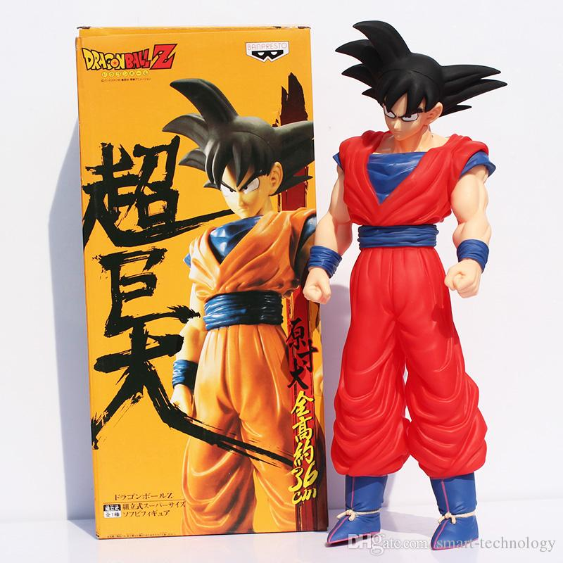 Dragon ball z figures Goku figure chidren toy colorful package 4Styles Children's Gift Sets 15inch