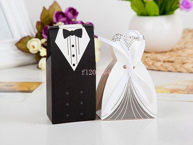 Fedex DHL Livraison Gratuite Date Mode mariée et le marié boîte Boîte de faveur de mariage Boîte cadeau Boîte de bonbons, / = es