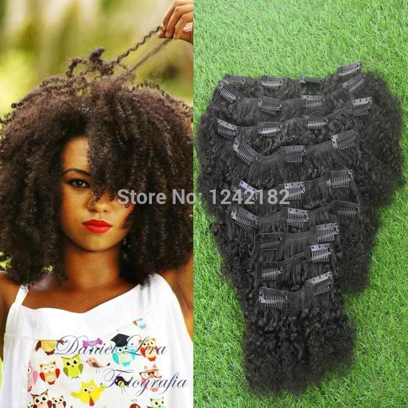 Hot sale afro kinky curly hair clip in human hair extension 15 pmusecretfo Gallery