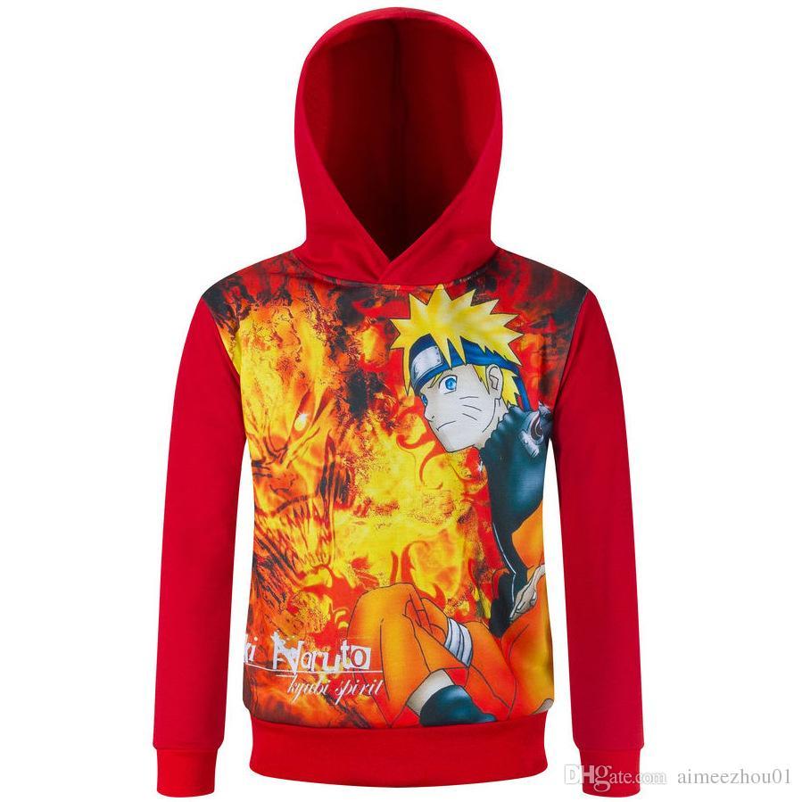 New Boys Girls FNAF Five Night At Freddy T-Shirt Children Hoodie Sweatshirts Long Sleeve Clothing Fireman Sam Kids Tee Dragon Ball Clothes