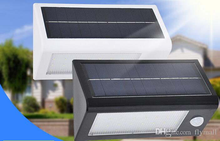 32 LED Solar Powered Light 400 Lumen Outdoor Motion Sensor Light Waterproof Solar Lamp Stairway Path Landscape Garden Wall Patio Lamp