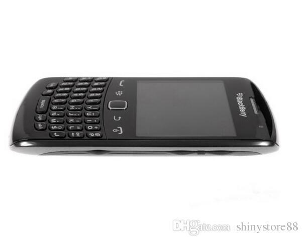 Original Curve Apollo Blackberry 9360 Cellphone 5.0MP Camera GPS WiFi Bluetooth 512 MB RAM BlackBerry OS refurbished Unlocked Cell Phone