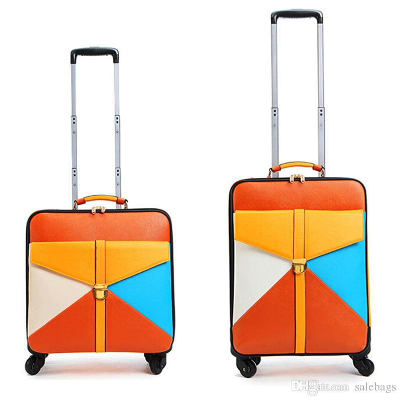 Korea Style Travel Suitcase Women Trolley Travel Bags Spinner ...