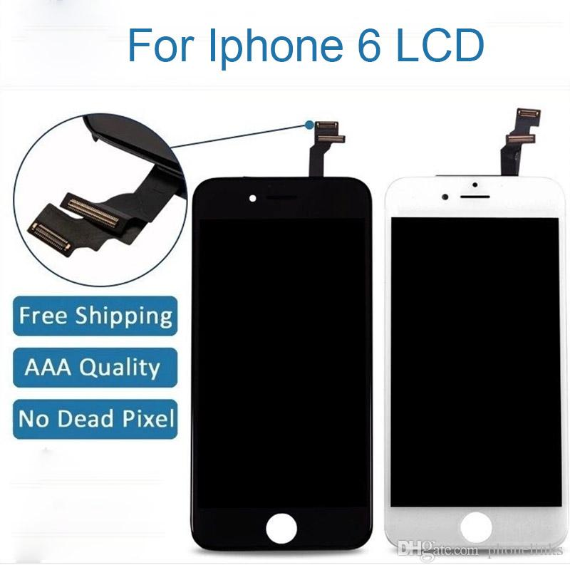 2019 LCD Touch Screen Digitizer Replacement Assembly For Iphone 6 AAA Quality No Dead Pixel Lcd From Phonelinks 996