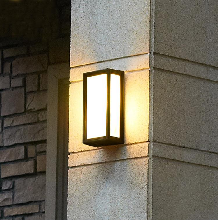 Exterior Wall Lights Stunning Best Creative Outdoor Wall Lamps Waterproof Outdoor Courtyard