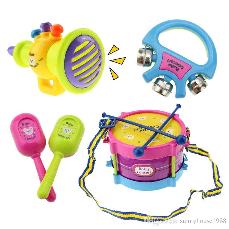 Set of Drum Musical Instruments Toys Gifts for Baby and Kids Brand New