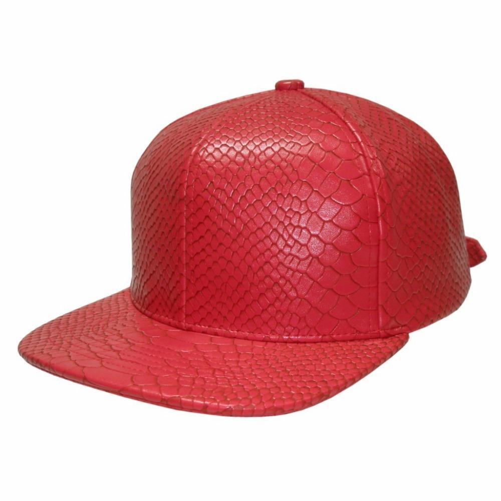 18ba5b086be 2019 Red Snakeskin Strapback Python Snapback Just Don C Kanye RSVP Snapback  Many Colors To Choose