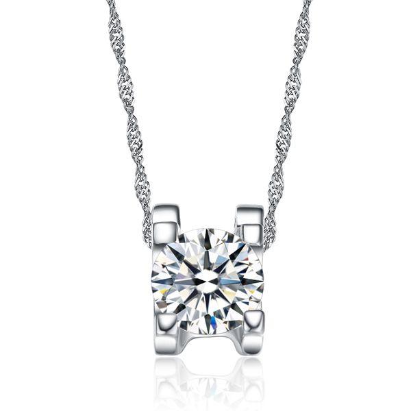 Wholesale fine jewelry silver jewelry 100 guaranteed solid 925 wholesale fine jewelry silver jewelry 100 guaranteed solid 925 sterling silver pendant with single cubic zirconia yh08 925 sterling silver jewelry cubic aloadofball Images