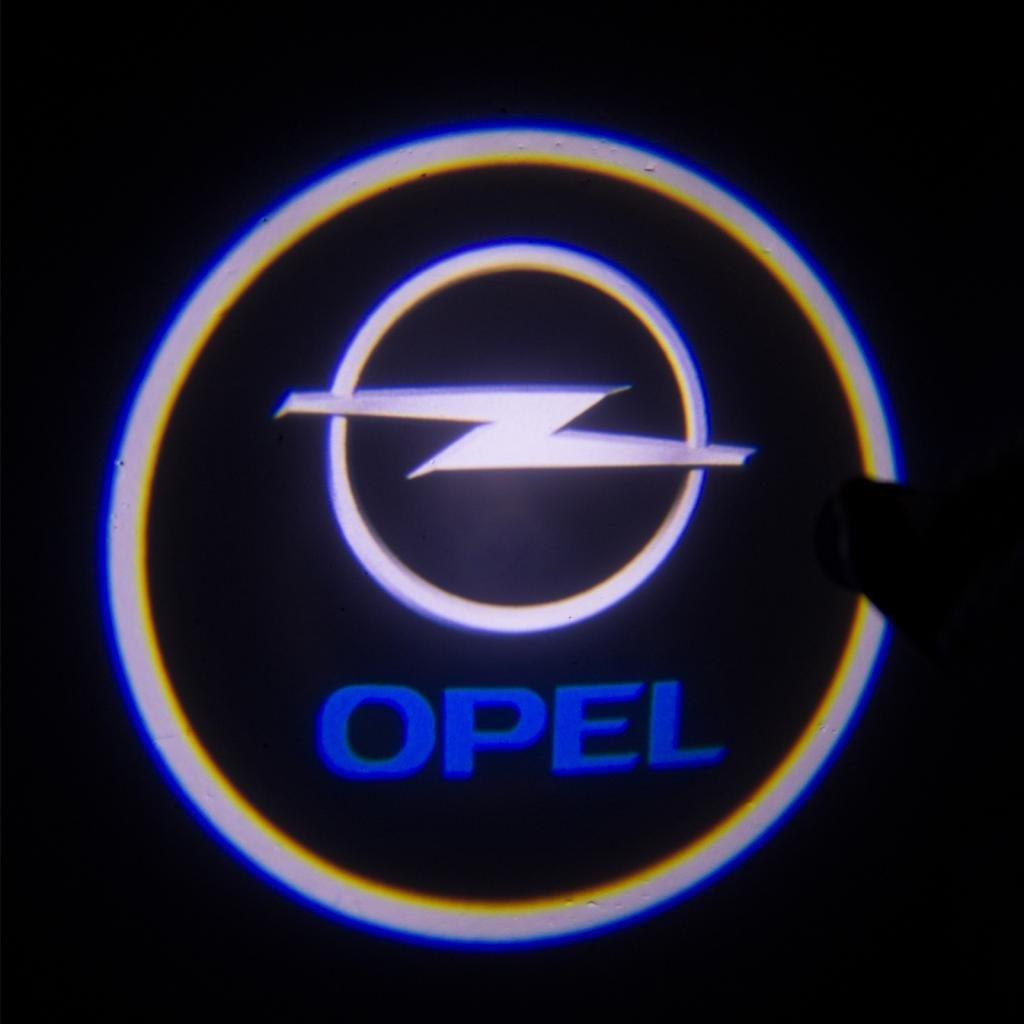 2018 3w 4th Led Auto Logo For Opel Car 3d Welcome Light Door