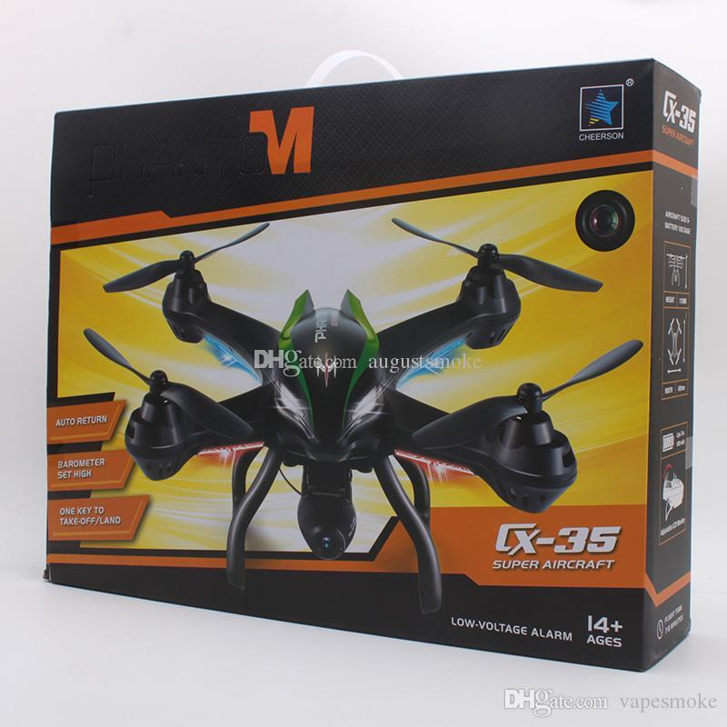 Original Drones CX-35 New RC Drone FPV Helicopter Quadcopter with HD Camera  5 8G 6-Axis Real Time RC Helicopter Toy 2016 fashion