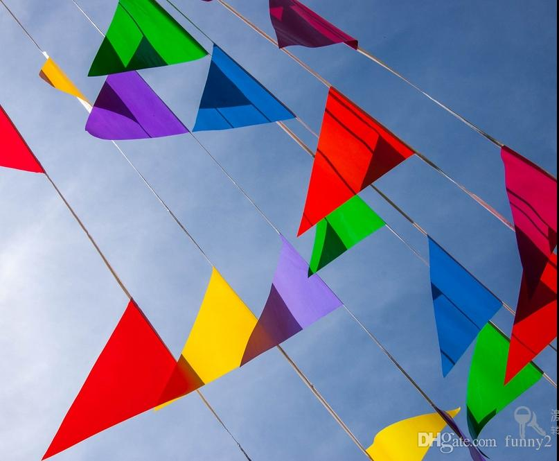 2019 120 Flags 60 M Flags And Banners Fabric Bunting