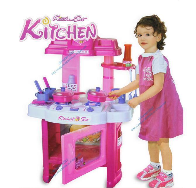 Großhandel Kinder Spielen Küche Mikrowelle City Simulation Spielzeug ...