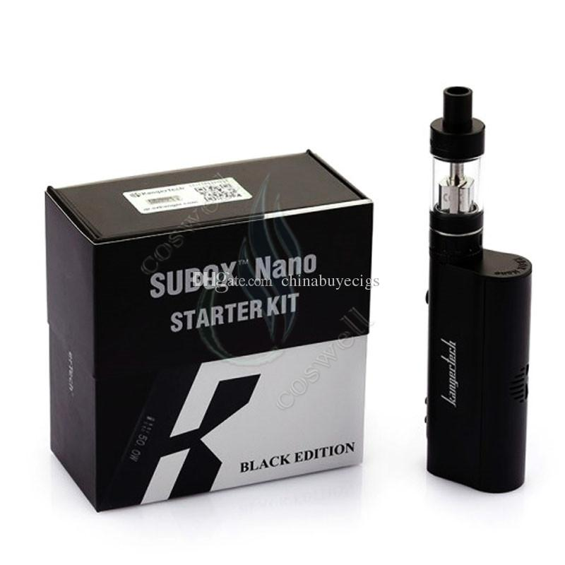 Top Subox mini & nano starter kit high clone Kanger Sub tank OCC RBA atomizer RDA KBOX Variable Wattage Box Mods E cigs kangertech vapor DHL