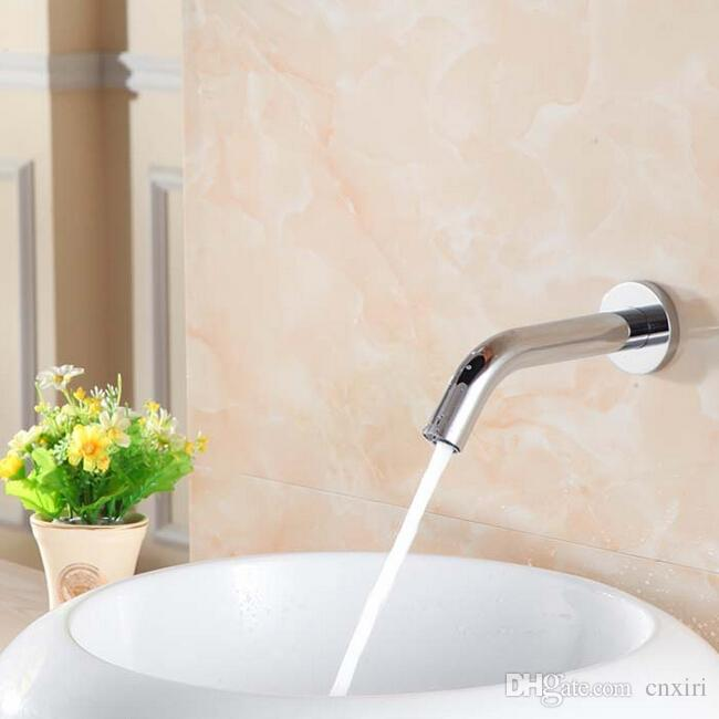 Automatic Inflared Sensor Water Saving Faucets Wall Mounted ...