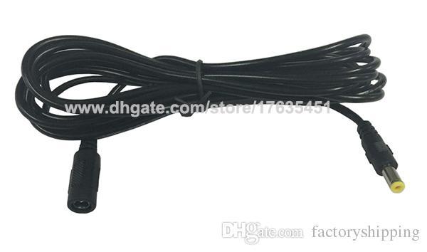 5.5x2.1mm DC 전원 암수 플러그 연장 케이블 crod 1 3 5 1M 1M 3M 5M 무료 배송