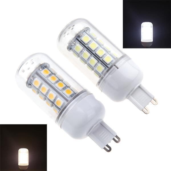white warm white led bulb lamps high bright g9 5w smd 36 led corn light bulb lamp 360 degree 220 240v energy saving led fluorescent tube replacement