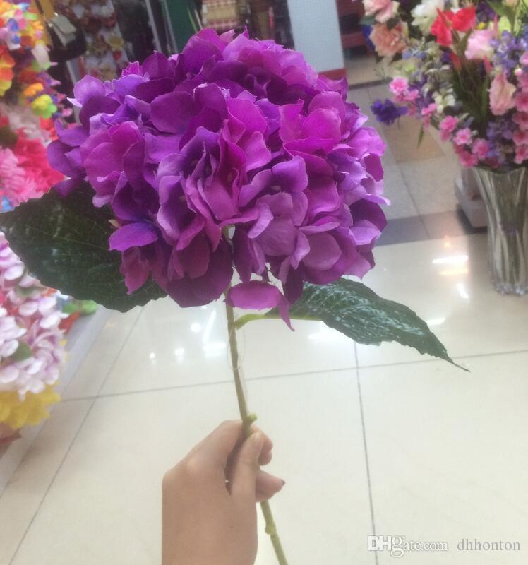 Fleur D'hortensia Artificielle 80cm / 31.5