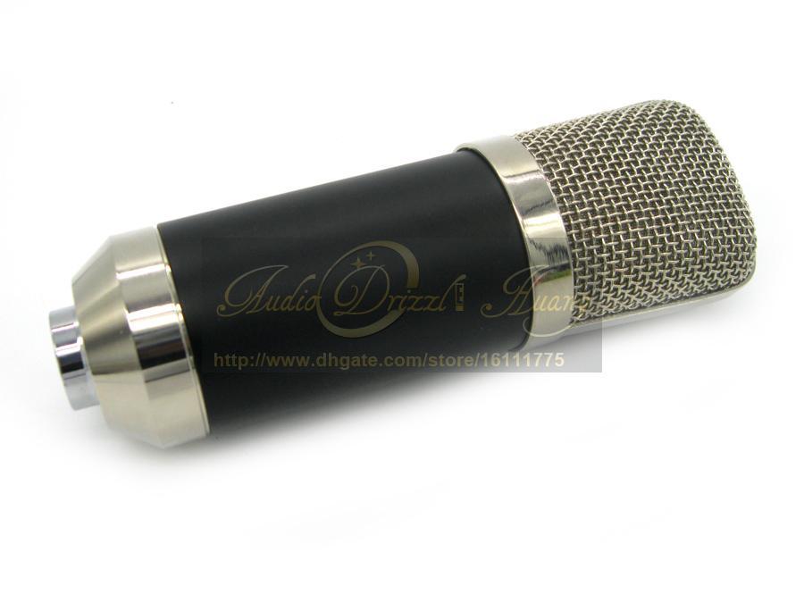 Toppkvalitet Toppkvalitet Professionell Studioinspelning Kondensor Mikrofon BM700 Mic för Karaoke Guitar Music Skapa Broadcast PC Microfono