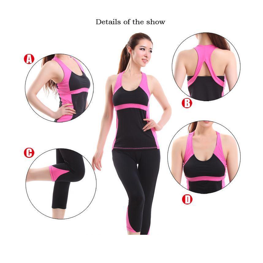 2019 Korean Workout Clothes Yoga Dance Clothes Vest Shorts
