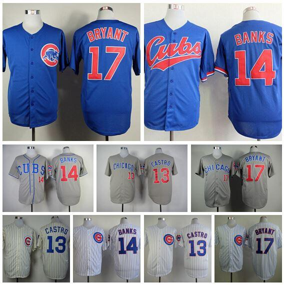 dbec7e4ed mens chicago cubs 22 addison russell blue jersey