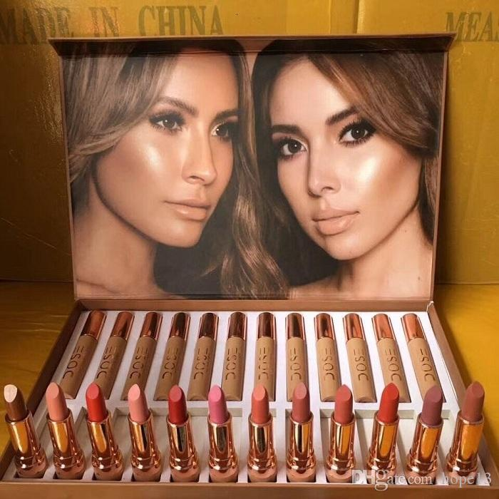 Makeup Set soc lipstick set from the Collection Lipstick Lipgloss in stock Free Drop Shipping