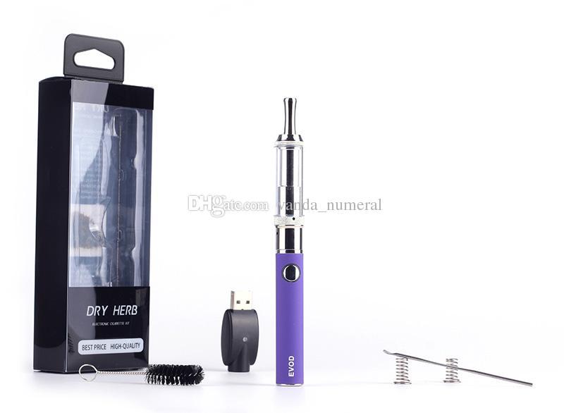 EVOD Cloutank M3 blister kits E Cigarette EVOD Battery Cloutank M3 Atomizer cloutank wax Vaporizer Pen dry herb dry herbal Mod cigarette