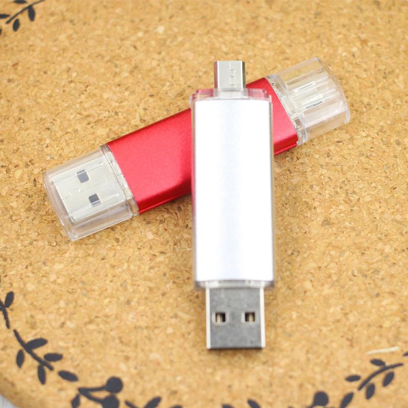 2020 YENI OTG USB Flash Sürücü 4 GB 8 GB 16 GB 32 GB Pendrive Smartphone Pendrive OTG USB Sopa Harici Depolama Tablet PC USB 2.0
