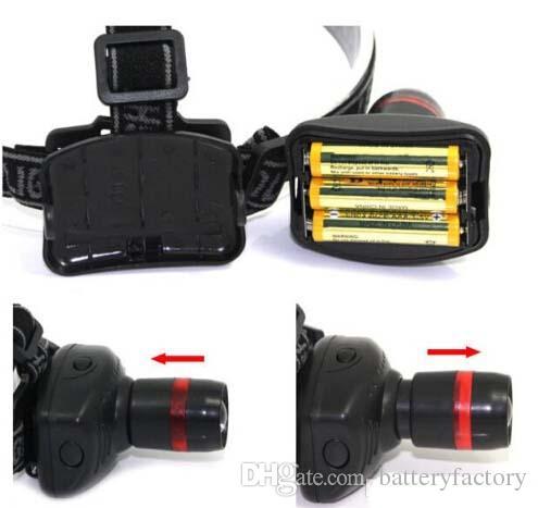 2015 new LED Headlamps Fishing lamp Strong Light Zoom 3 Mode Waterproof Fishing Headlight Flashlight HeadLamp Outdoor Gear,Hiking & Camping