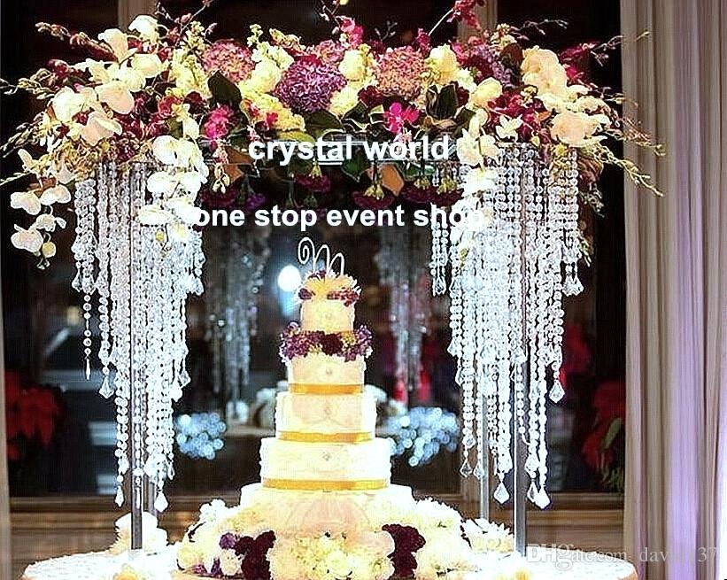 Wholesale Elegant Wedding Decoration Centerpieces Crystal