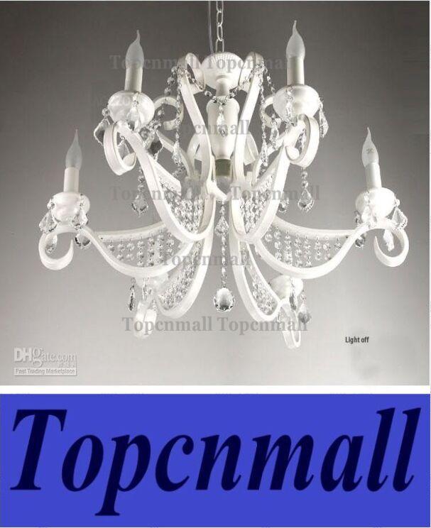 Luxury Iron Chandeliers Crystal Hanging Bedroom Chandeliers Lights ...