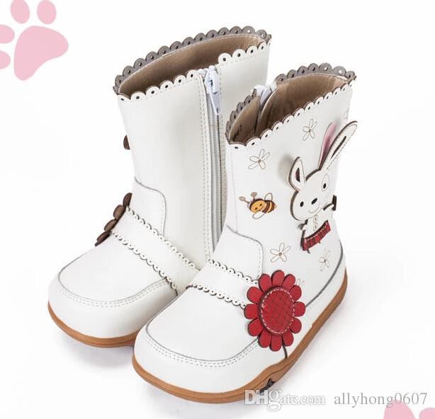 Ni/ñita Botas Caliente Botas de Nieve de Las ni/ñas Zapatos de Invierno al Aire Libre