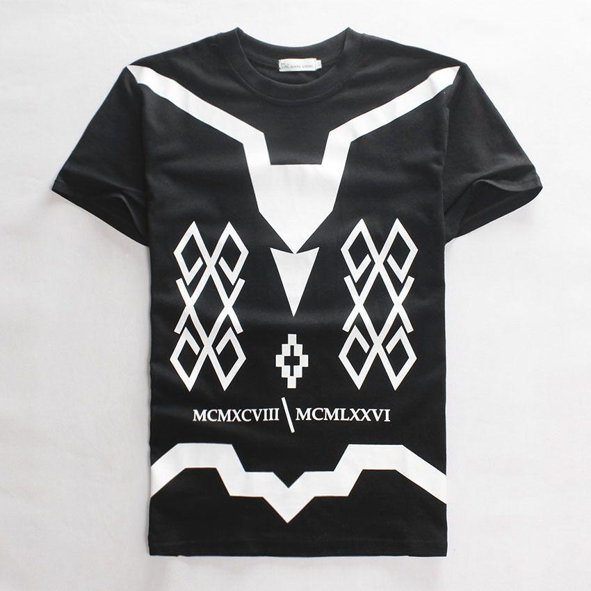 2015 New Hip Hop Tee Shirt Harajuku Letter Print Mcmxcviii Graphic ...