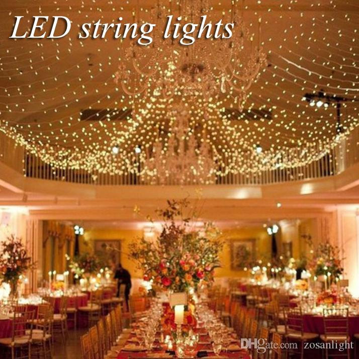Wedding decorations outdoor indoor festival string lights 4m 6m net wedding decorations outdoor indoor festival string lights 4m 6m net led colorful string lights 220v 110v christmas string new year lighting wedding junglespirit Gallery