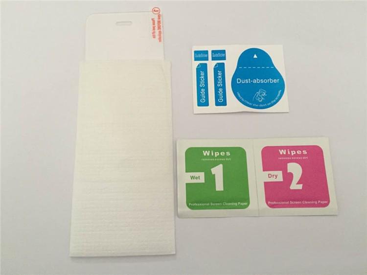 Para iphone 6 6 s prémio protetor de tela de vidro temperado 2.5d 9 h 0.26mm sem caixa de varejo