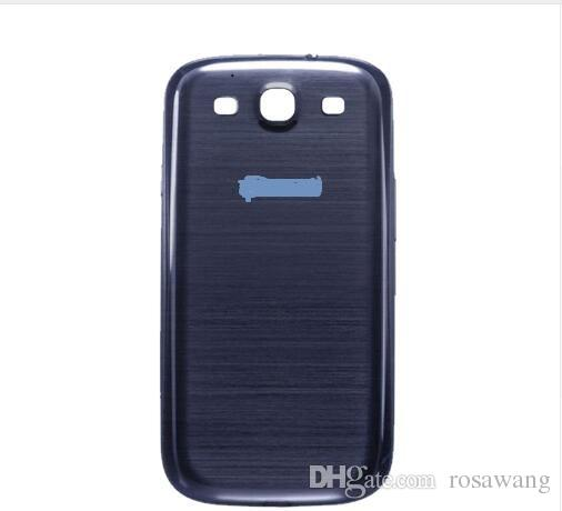 100% Original For Samsung GalaxyS3 i9300 Back Battery Door Rear Housing Cover Case For samsung S3 Battery Cover Replacement